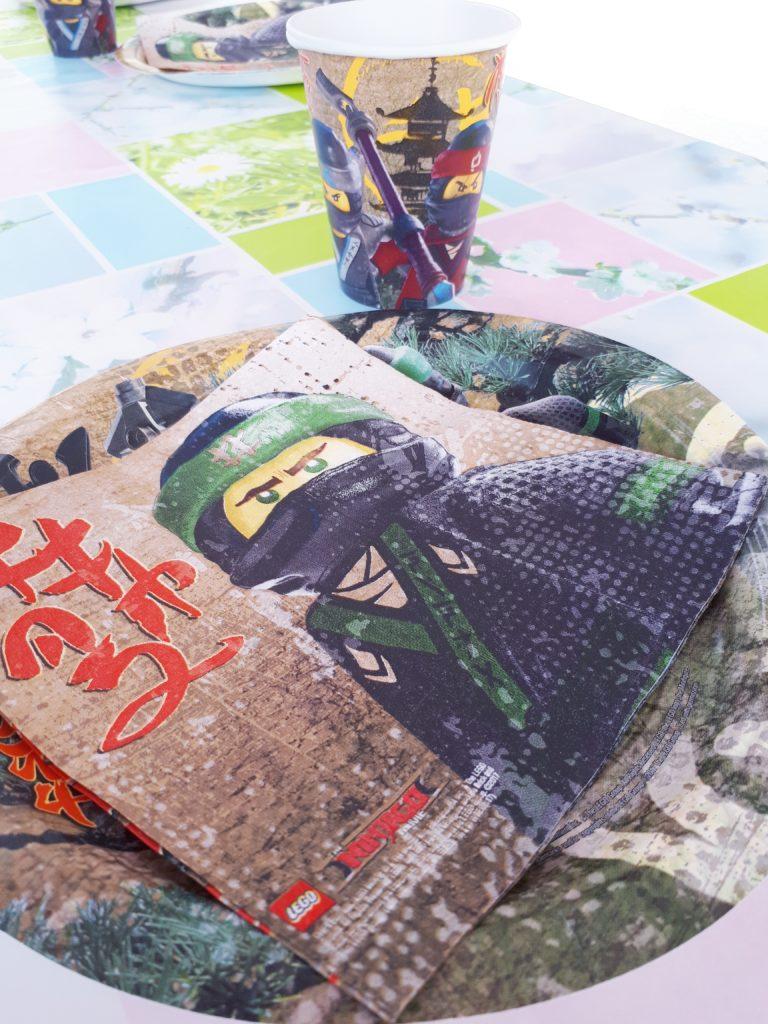 Tisch Dekoration Ninjago