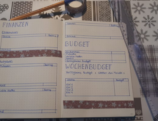 Bullet Journal Finances